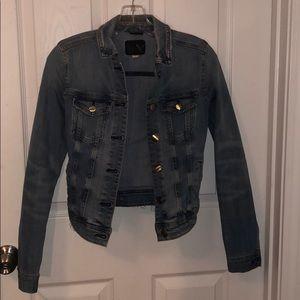 Medium denim wash jacket